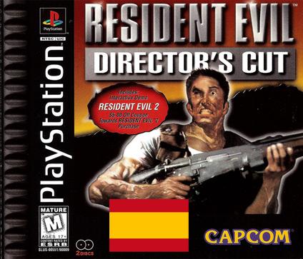 Resident Evil Directo's Cut traduccion al español castellano psx playstation usa americano