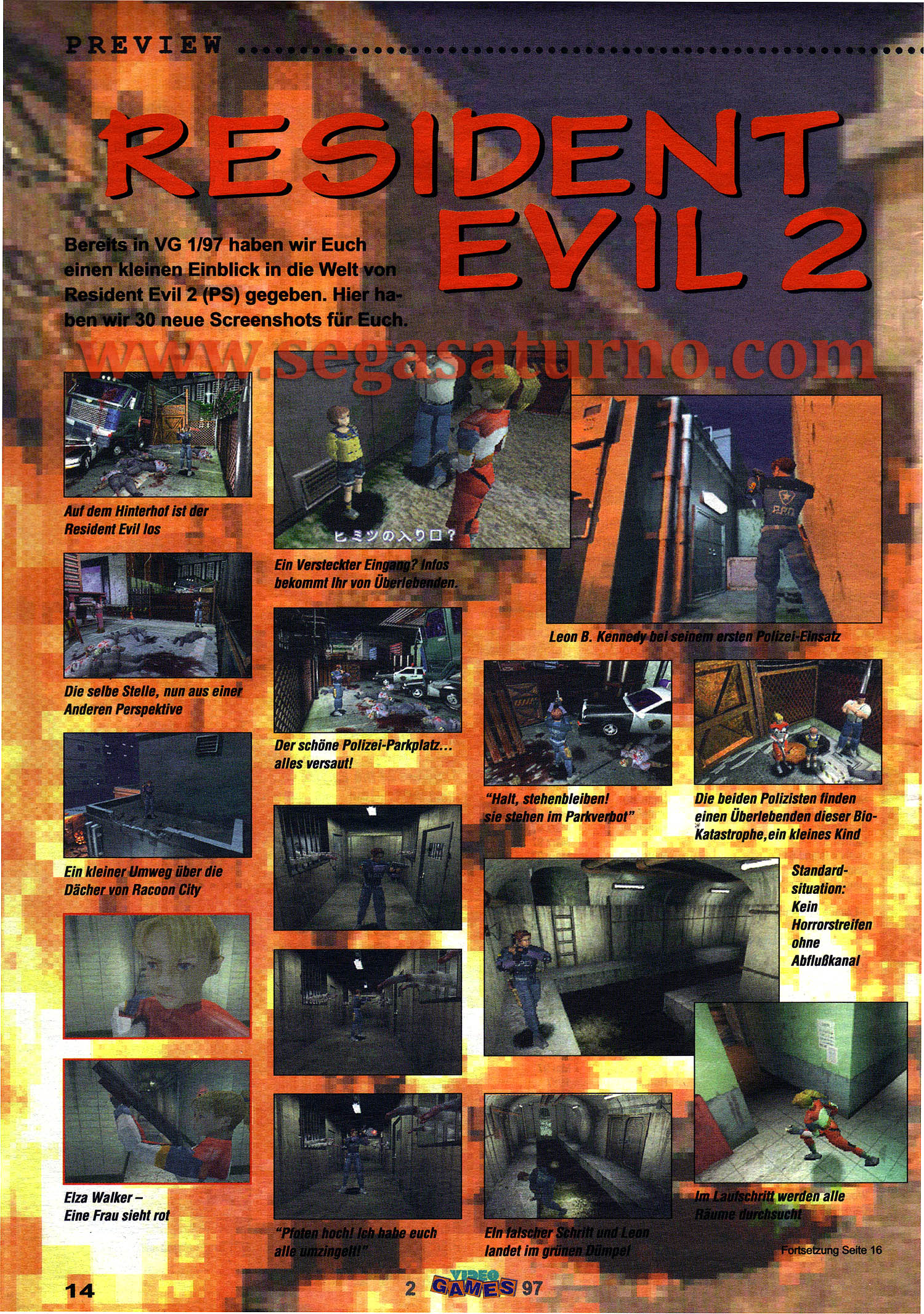 Resident Evil 2 beta 1.5 unreleased scan