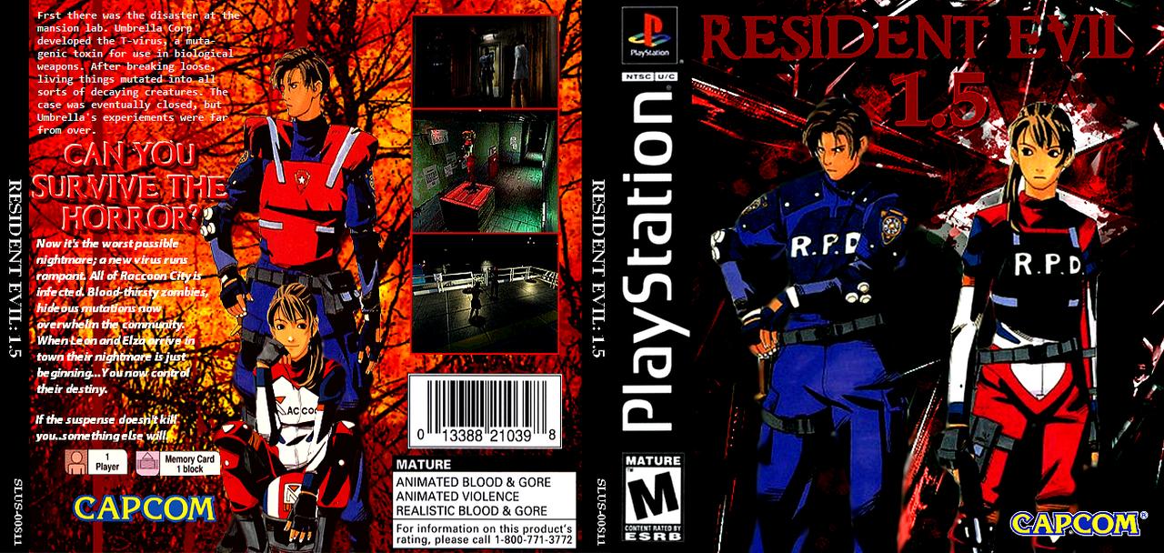 Resident Evil 1- 5