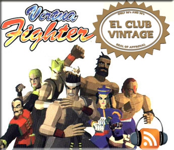 Virtua Fighter podcast el club vintage radio programa arcade am2 yu suzuki