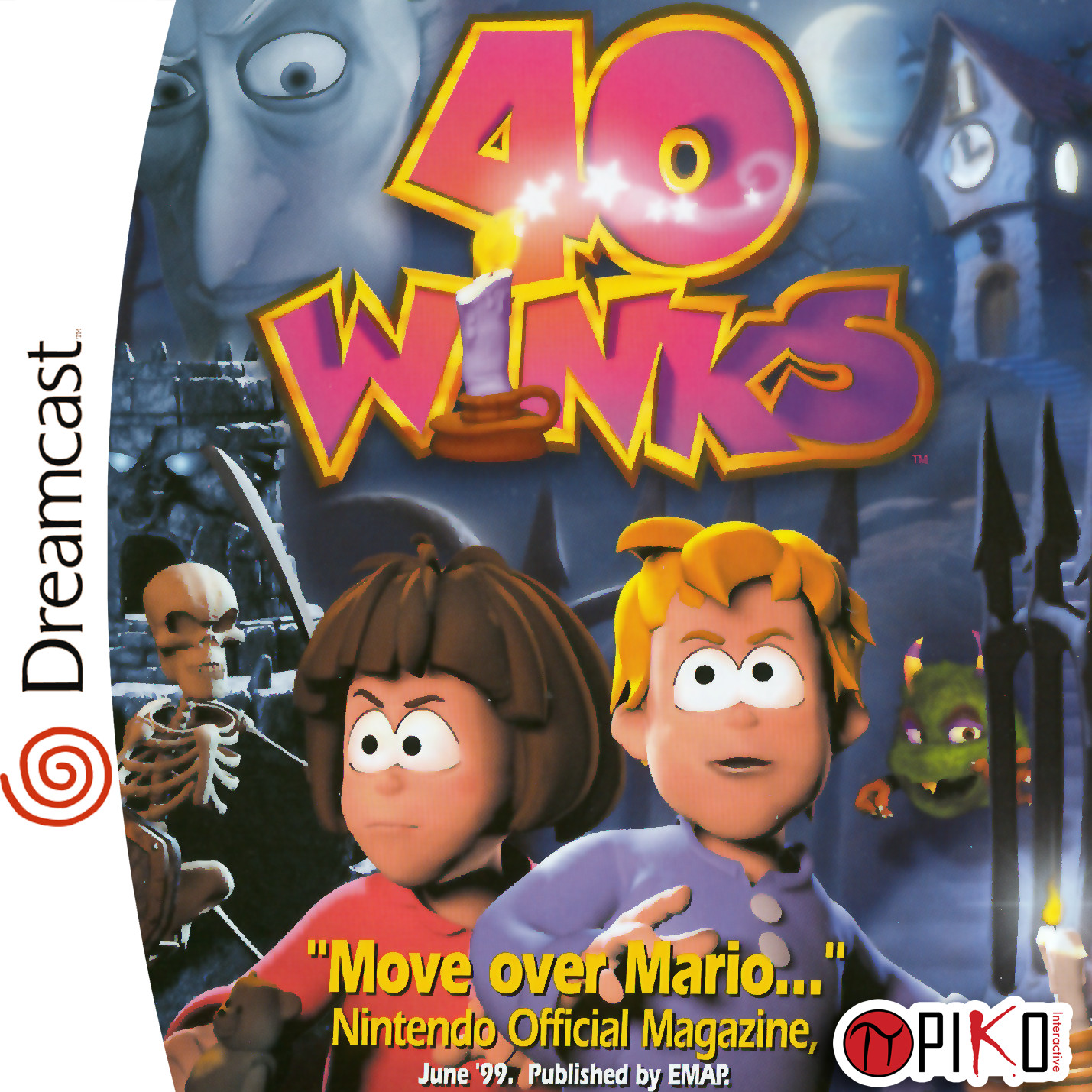 40 winks unreleased game dreamcast