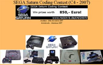 Desarrollo :: Concurso de programación SEGA Saturn, el C4 2007