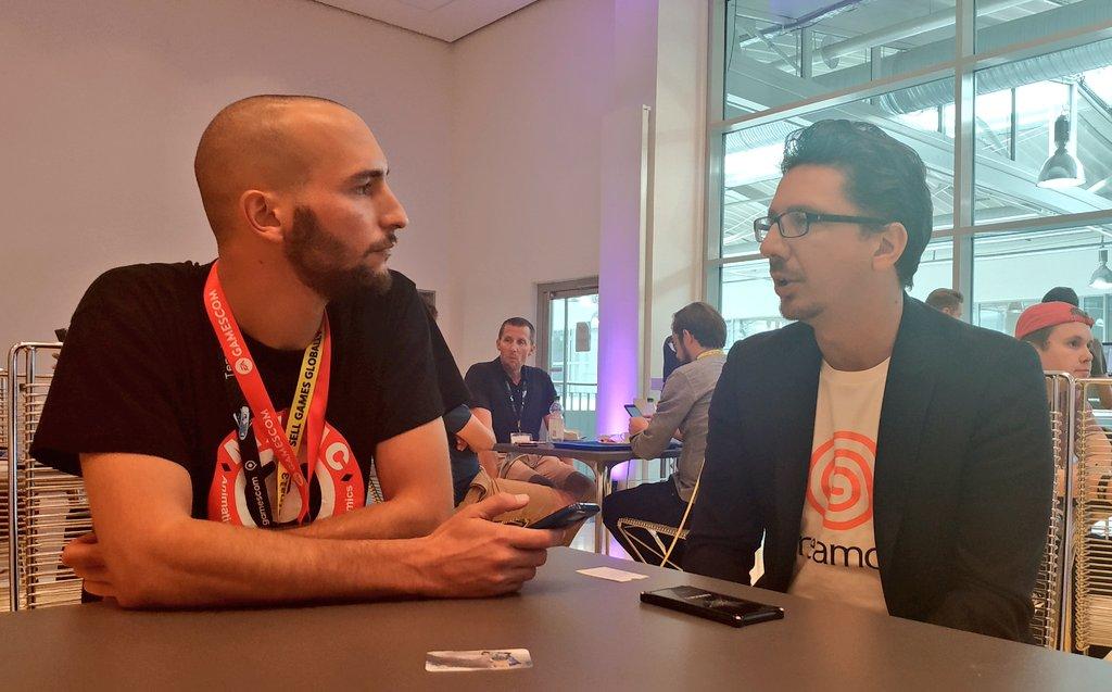 Cedric Biscay Shenmue 3 release dates gamescom 2018 interview entrevista SEGASaturno Ras Guillaume Bost