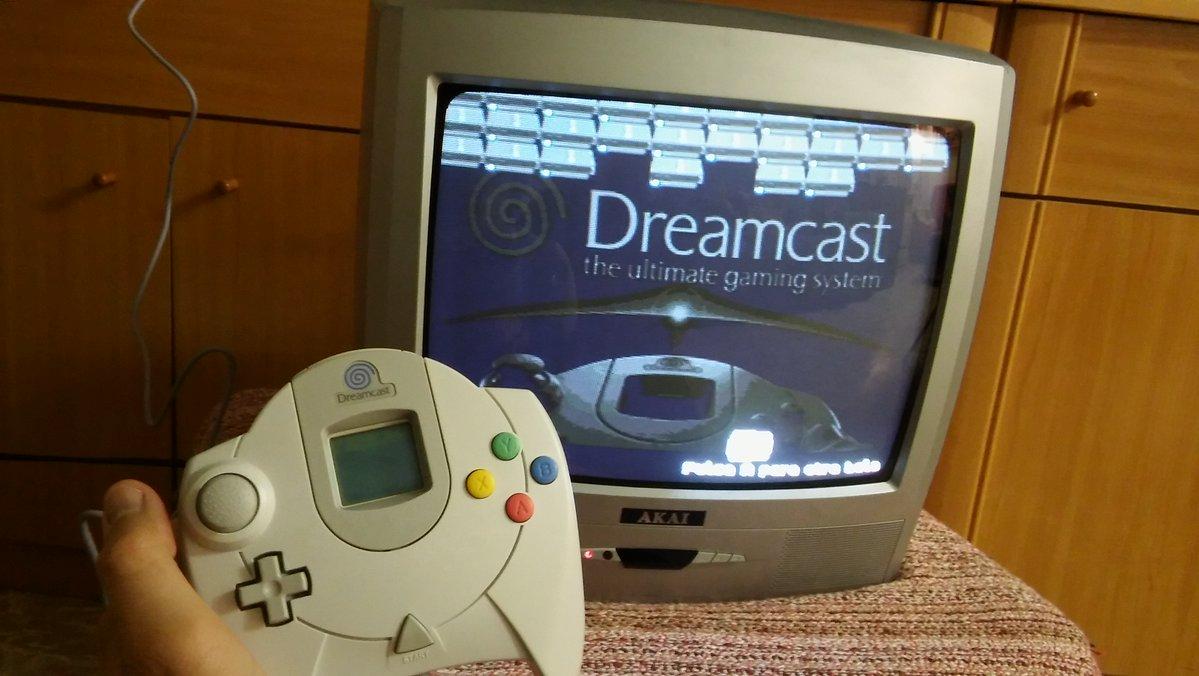 Dreamcastnoid DCJAM BennuGD Bennu Dreamcast new game juego nuevo 2017