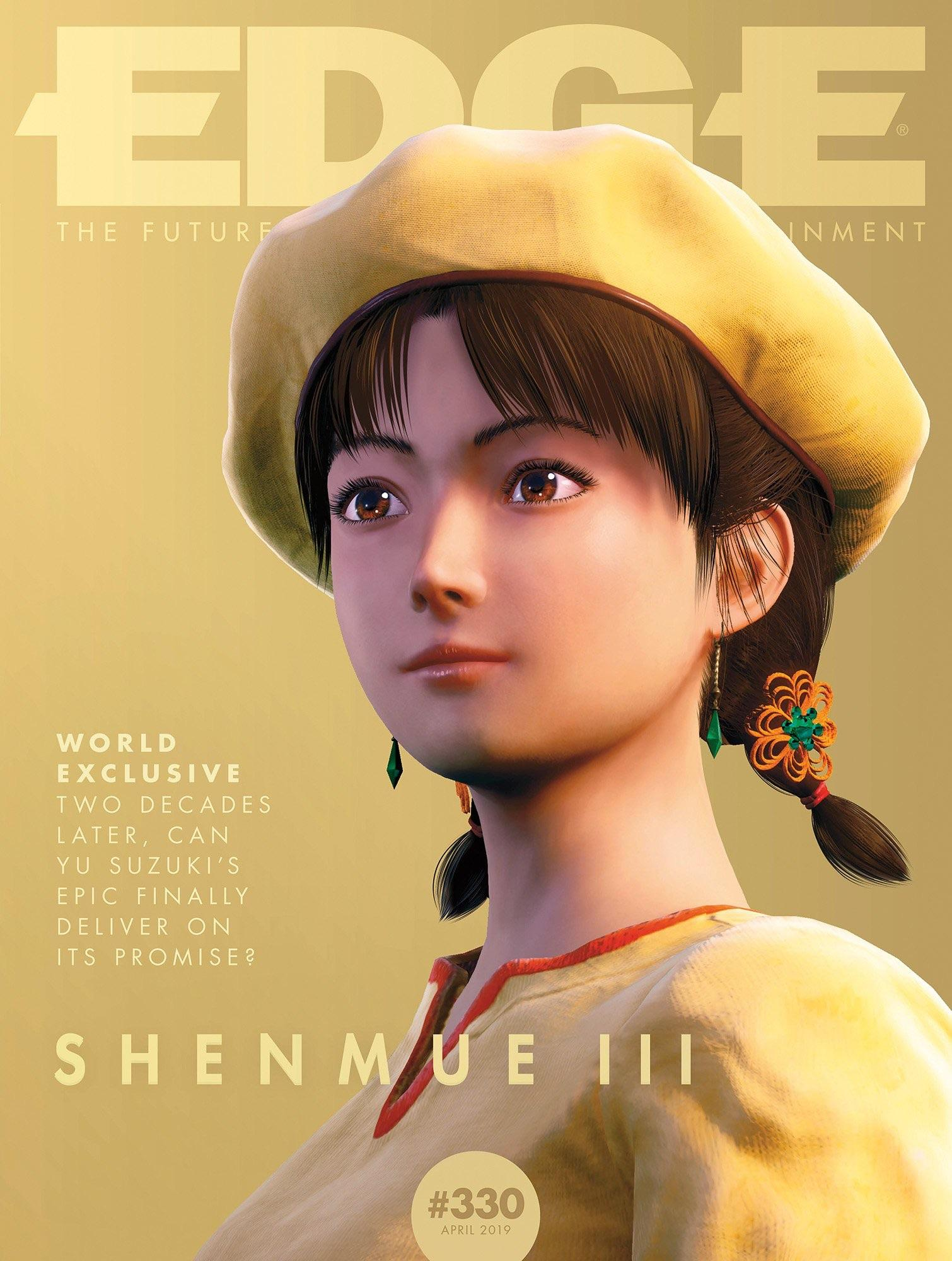 edge 330 shenmue 3 yu suzuki andy kelly april 2019 abril