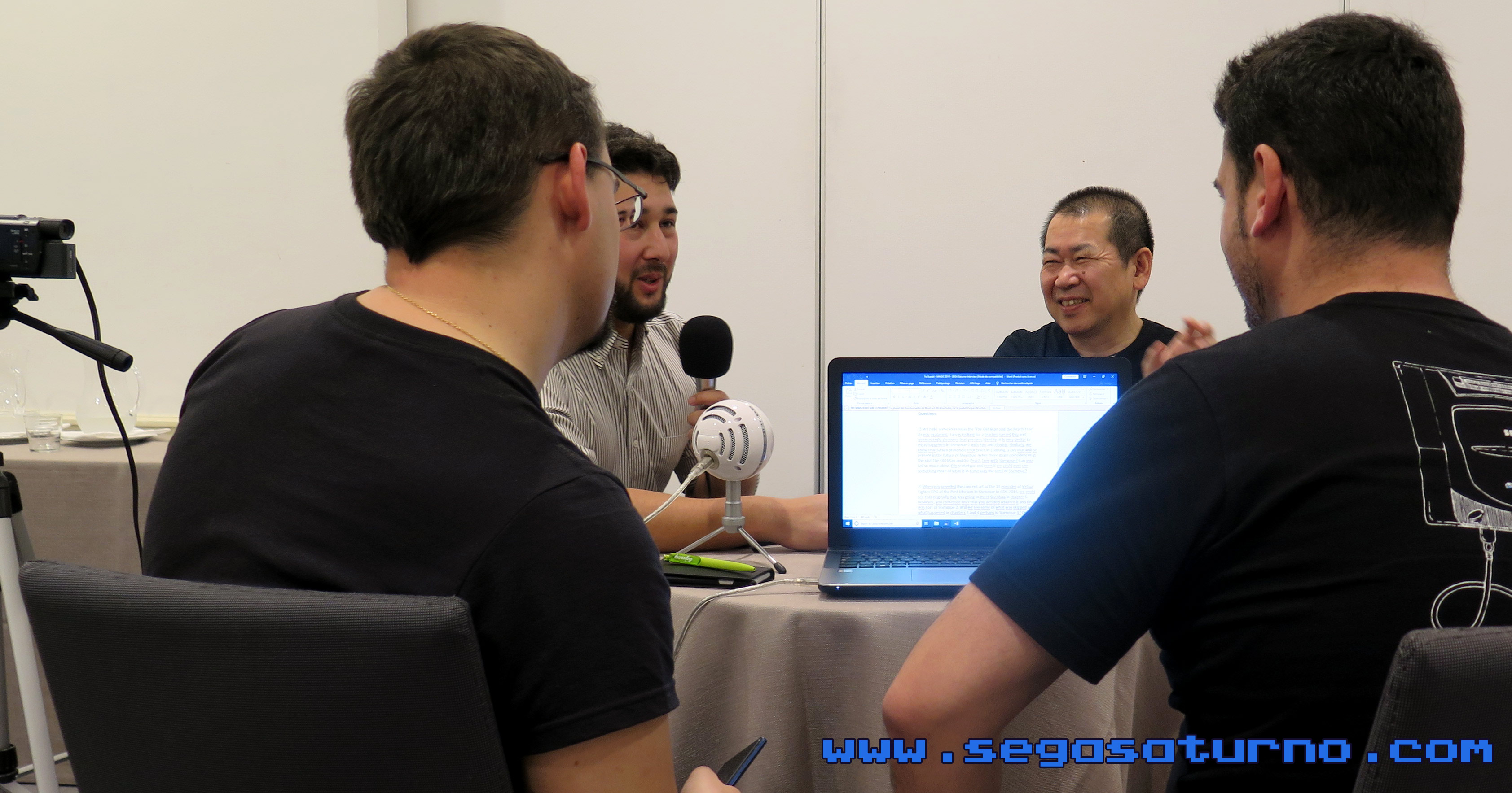 Yu Suzuki Shibuya Productions interview entrevista 2019 Agente Requejo Ryo Alfon Suzuki Magic Monaco Shenmue III 3 SEGASaturno Spain