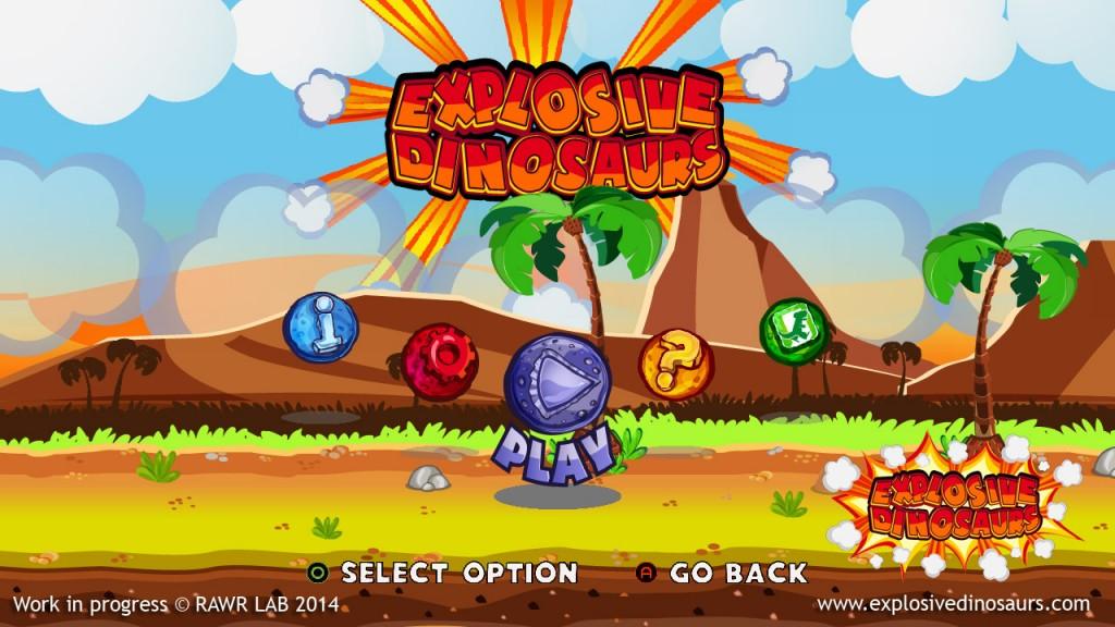 explosive dinosaurs juego comercial bennu gd