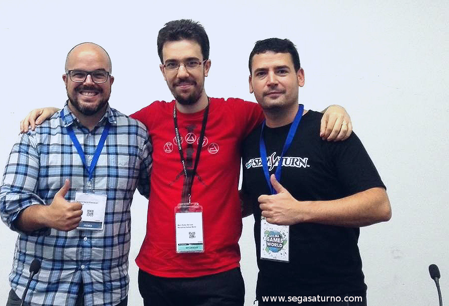 conferencia la historia de SEGA  parte 2 II BARCELONA GAMES WORLD Retrobarcelona 2016 cuarta edicion Marc Rollan Funs Alfonso Martinez Ryo Suzuki Tonichan Piedrabuena
