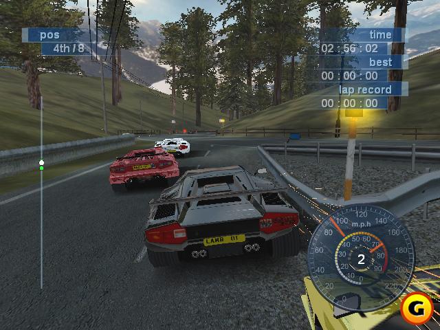 Lamborghini Video Game