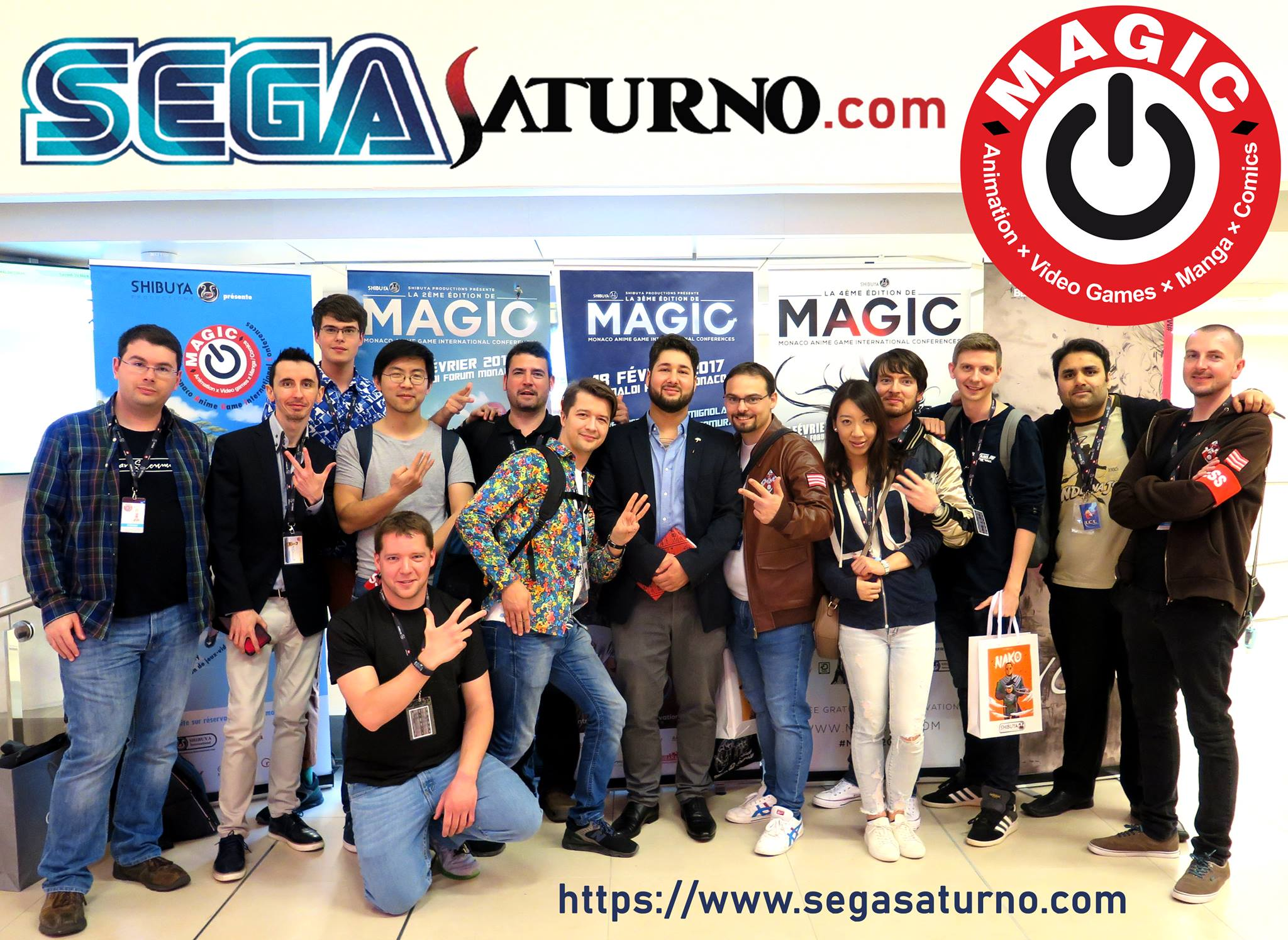 Yu Suzuki MAGIC MONACO 2019 SHENMUE FANS COMMUNITY