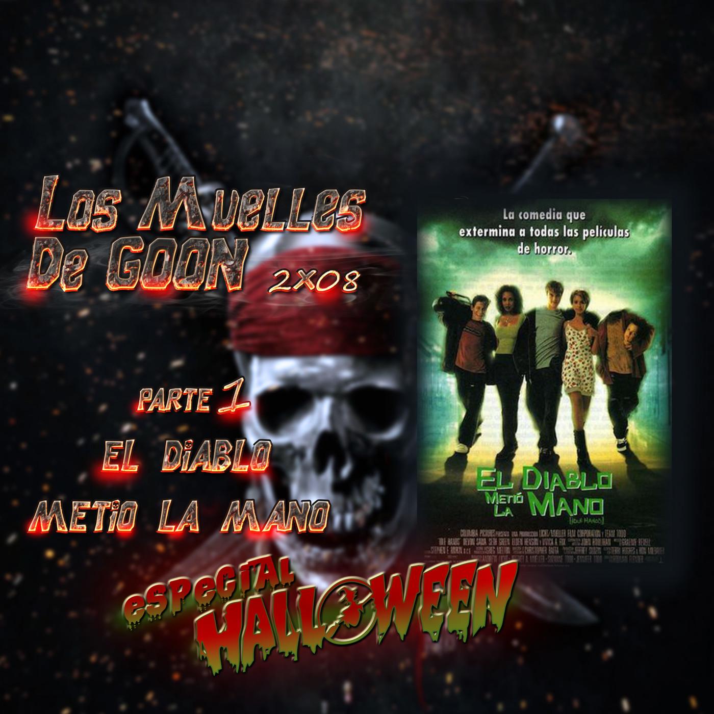 cine Los Muelles de Goon Podcast Especial halloween el diablo metio la mano idle hands jessica alba Devon Sawa