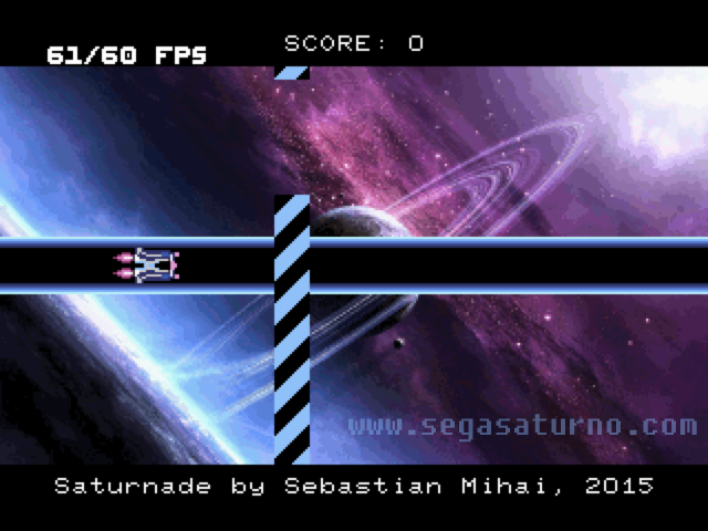 saturnade sega saturn orbit homebrew
