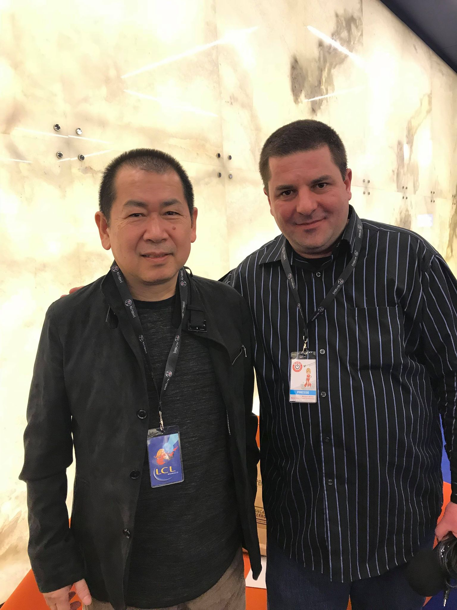 yu suzuki  Shendream (aka David Villeroy) shenmue 3 monaco magic monaco 2018