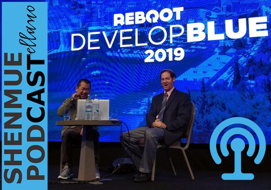 Yu Suzuki MAGIC MONACO 2019 entrevista interview Shenmue III 3Alfon Alfons Alfonso Martinez Gonzalez Ryo Suzuki Reboot Develop Blue 2019