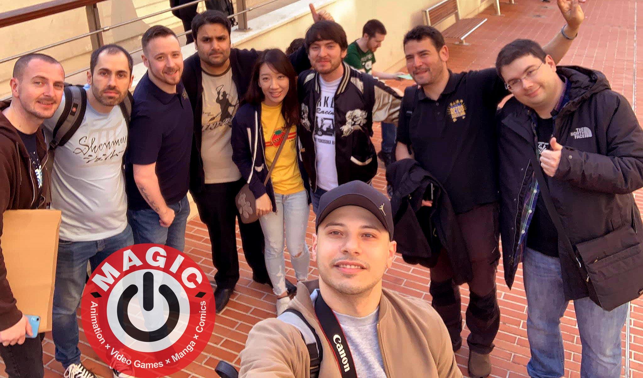 MAGIC MONACO 2019 Shenmue 3 Firat Ilducci Ryo Suzuki Peter Shenmue Dojo