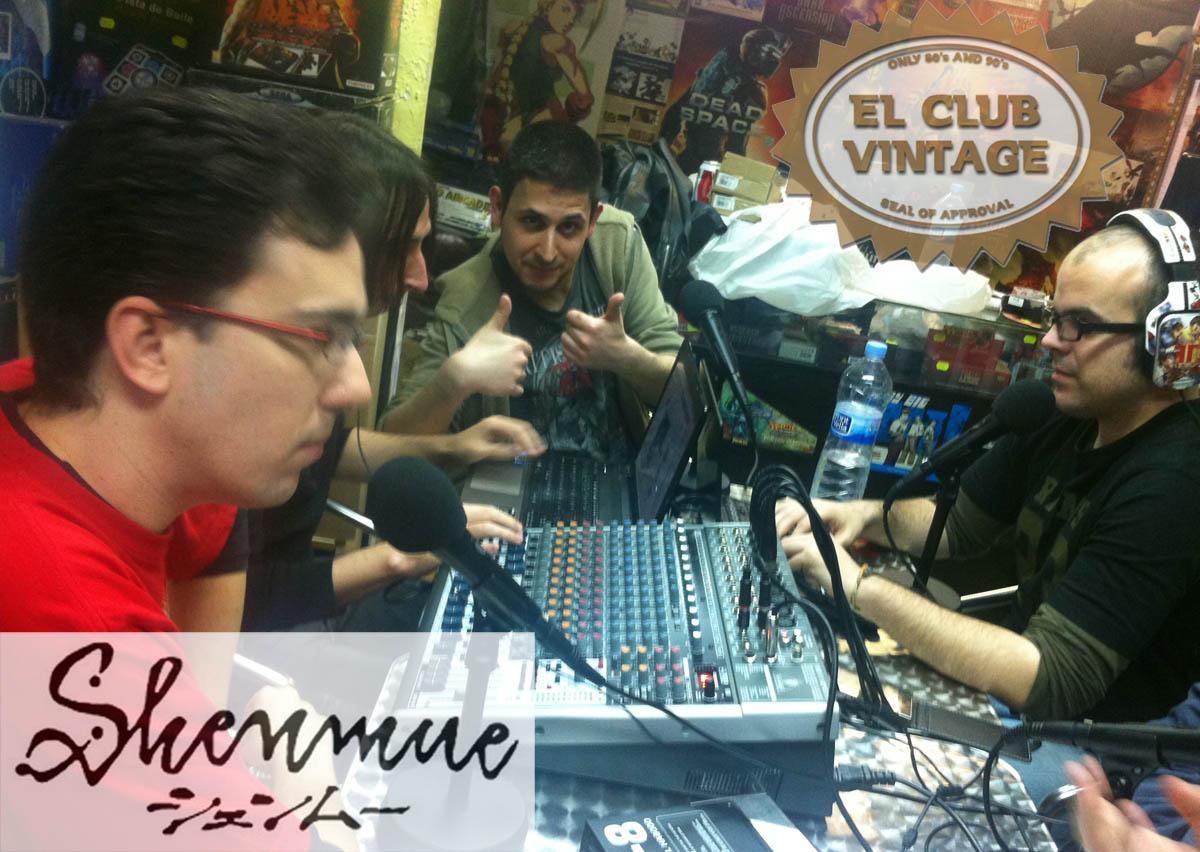 SHENMUE el club vintage podcast tonichan funs edu christian