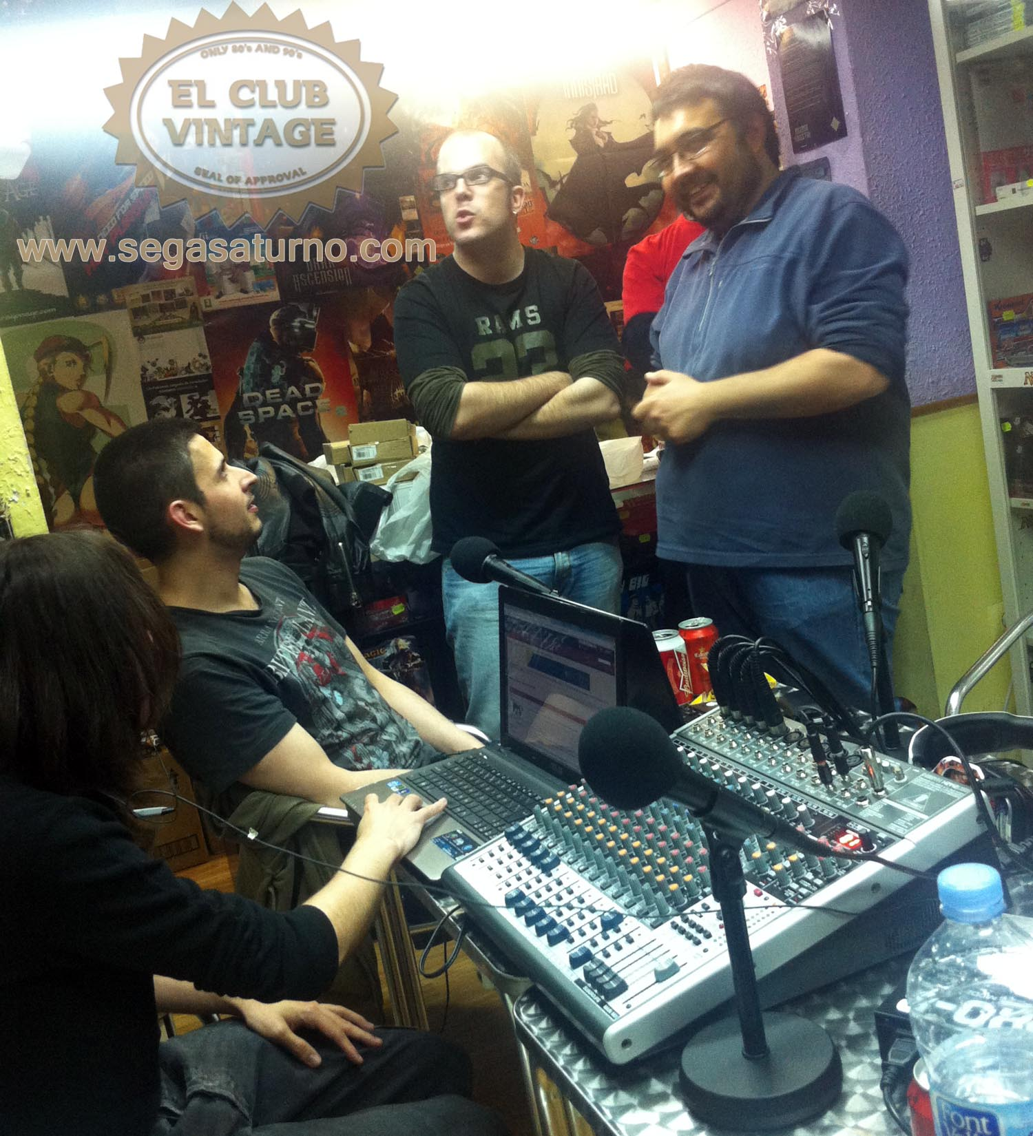 shenmue evilryu y cia el club vintage podcast play games and cards tienda