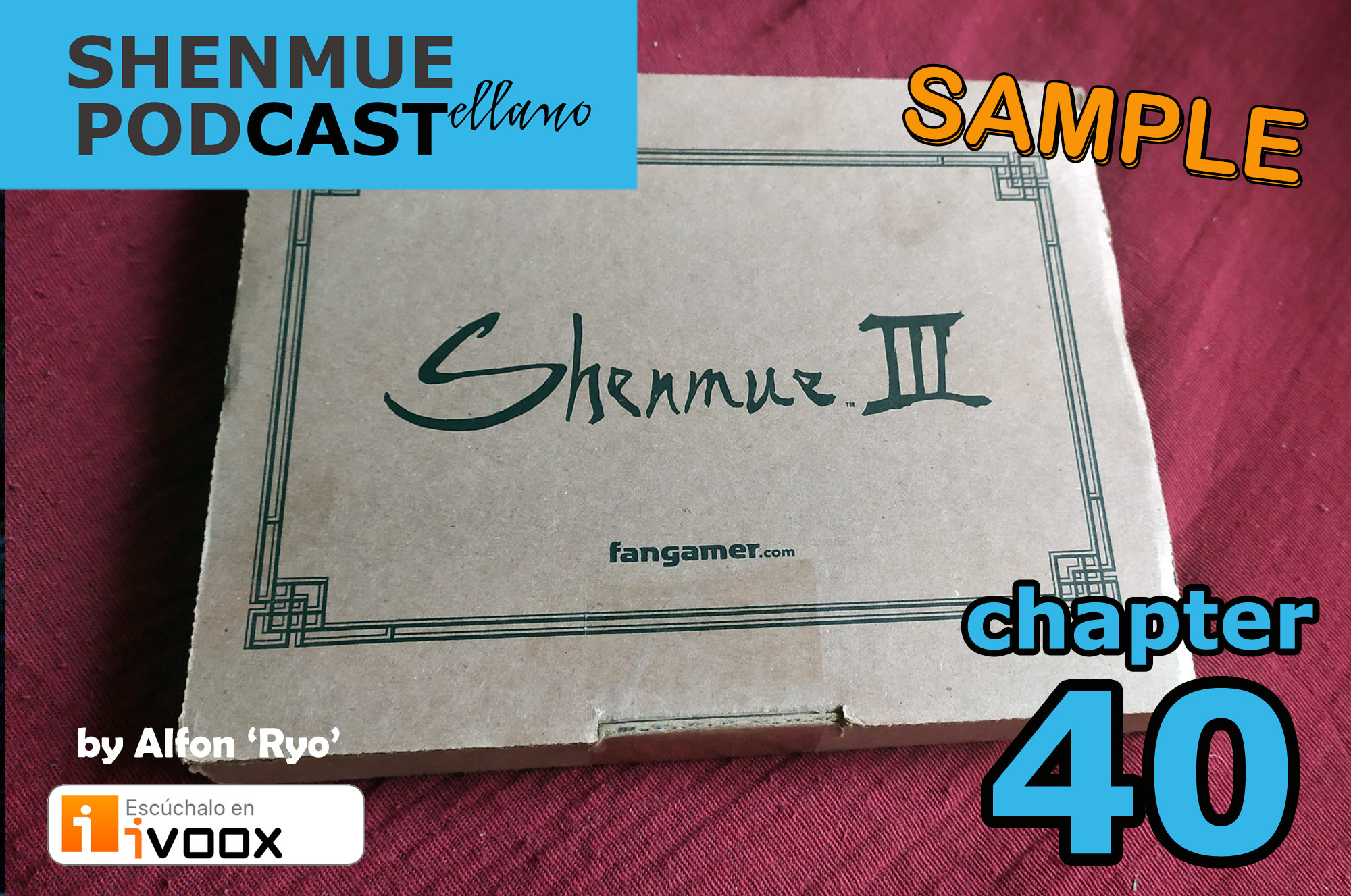 unboxing shenmue 3 kickstarter edition alfonso podcast