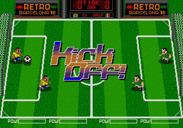 retrobarcelona megadrive indie game dev 1985 world cup segasaturno 1985 alternativo