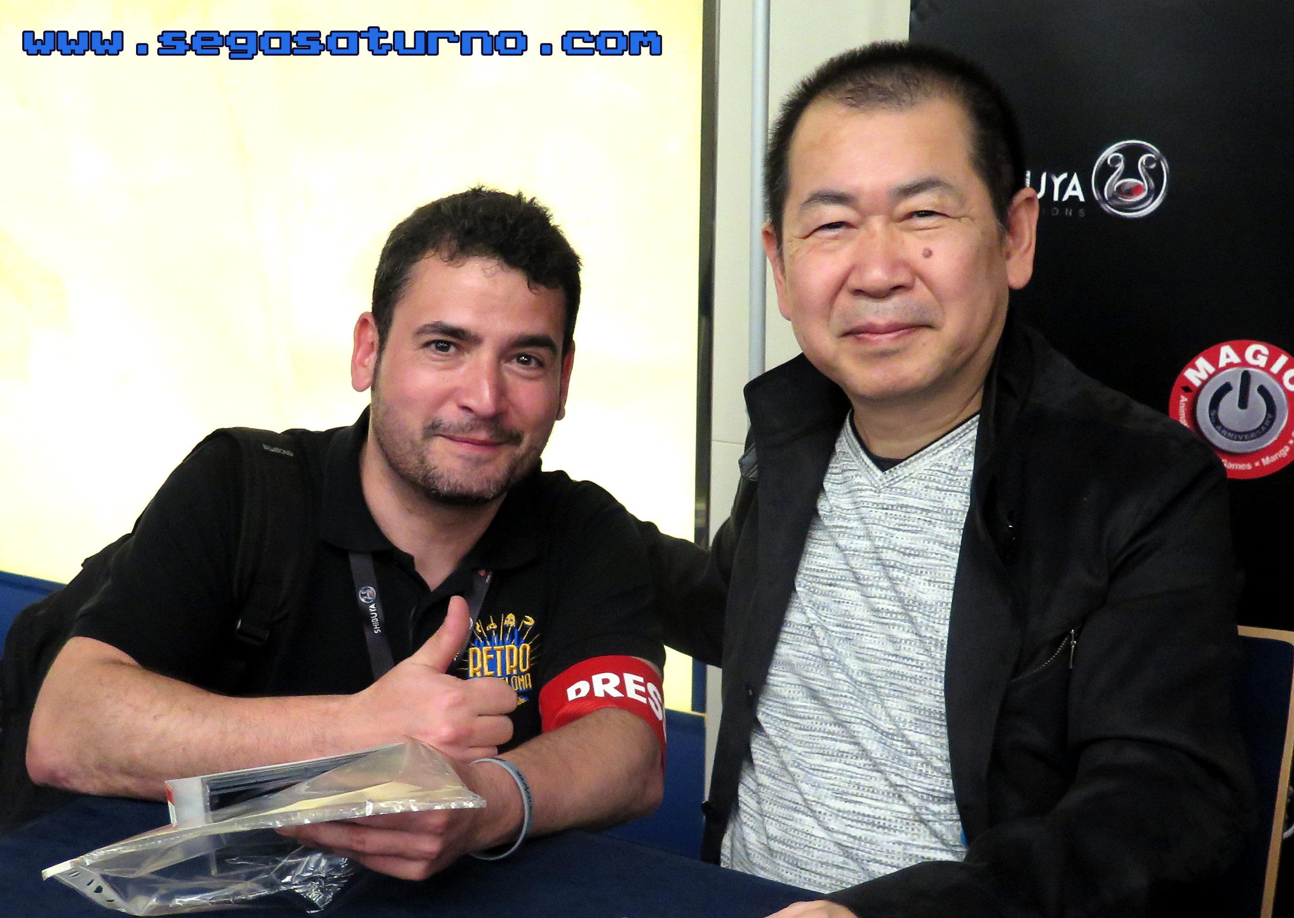 Yu Suzuki Alfonso Alfon Martinez Gonzalez Ryo Suzuki SEGASaturno Spain MAGIC MONACO 2019