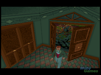 alone_in_the_dark_fm_towns_screenshot_you_enter_the_mansion