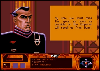 dune_sega_cd_screenshot_your_father_has_little_time_for_family