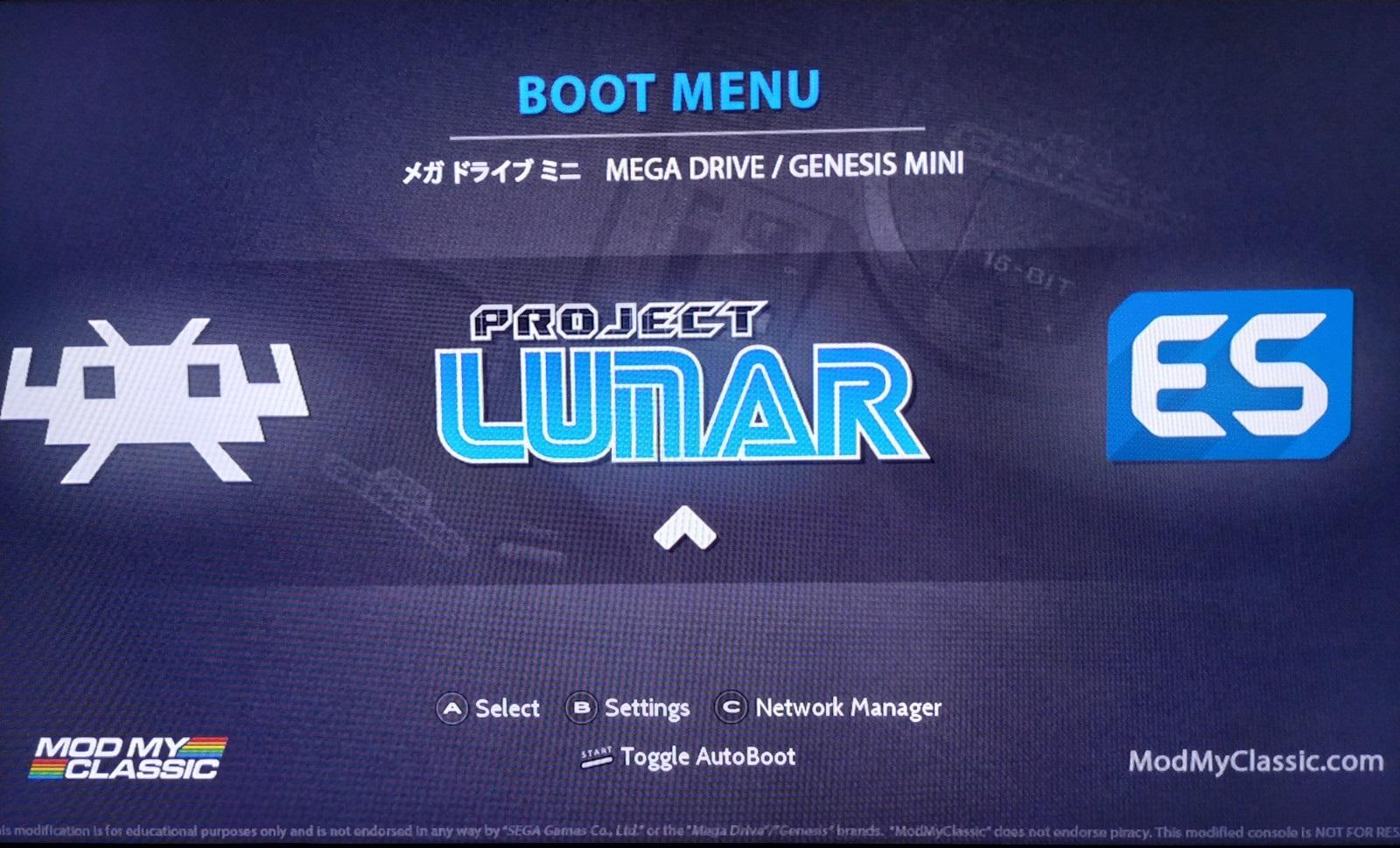 Tutorial Para Instalar Y Configurar Project Lunar En Megadrive Mini