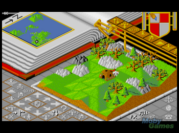 populous_populous_the_promised_lands_fm_towns_screenshot_a