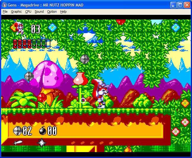 Unreleased Mr Nutz 2 for Mega Drive, game and source code apparently