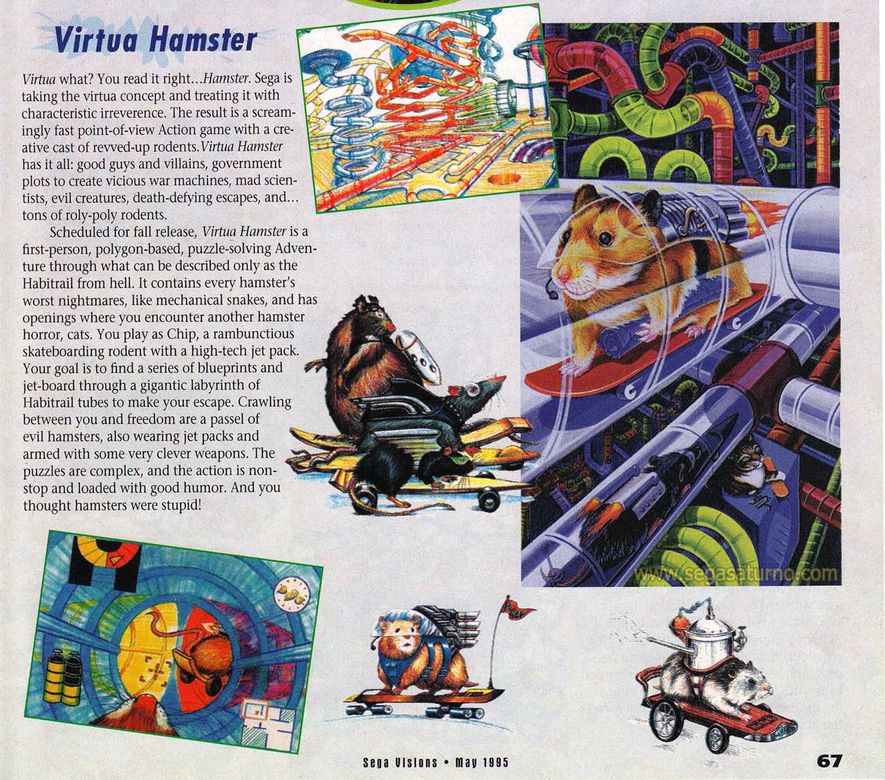 Scan from SEGA Visions - May 1995
